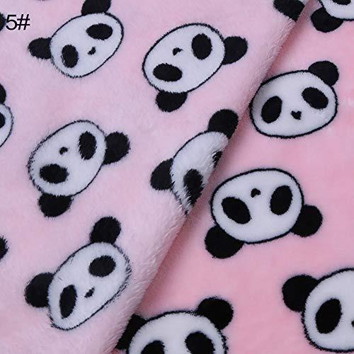 FidgetKute Cartoon Elephant Panda Warm Soft Flannel Carpet Cat Dog Puppy Pet Blanket DEN Style Size from FidgetKute