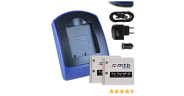 Micro USB Cargador para Praktica Luxmedia 10-23//12-03//12-23 DCZ 10.3