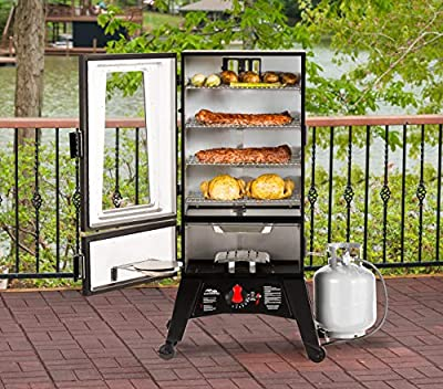 Masterbuilt MB20051316 MPS 340G ThermoTemp XL Propane Smoker, Black by Masterbuilt Manufacturing, LLC