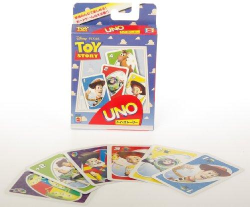 Spiele Mattel Toy Story 3 Uno Card Game