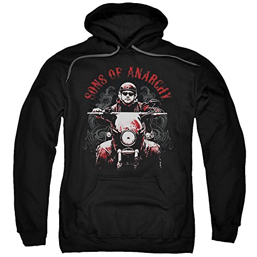 Sons of Anarchy FX Biker Gang TV Show Jax Teller Ride On Adult Pull-Over Hoodie