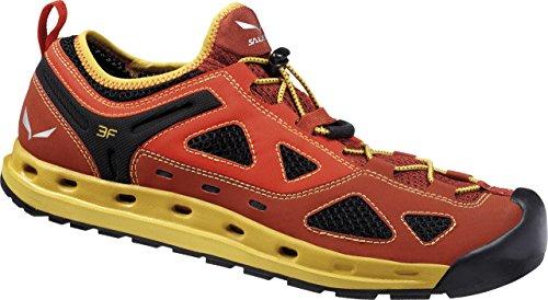 SALEWA Ms Swift, Zapatillas de Deporte Exterior para Hombre Rojo (Indio/Nugget Gold_1610)