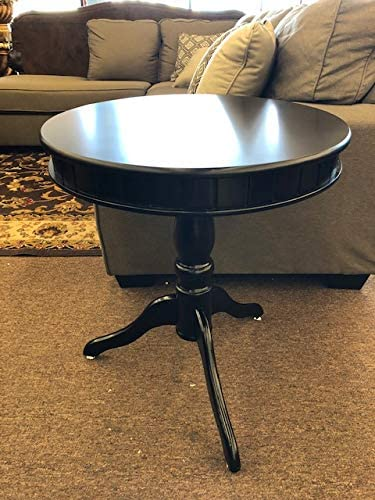 Amazing Buys – Round – End Side Table in A Cherry Finish