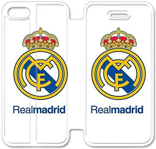 Funda iPhone 6 6S 4.7 Inch Caso De Cuero [BONITO REGALO Buen Presente] [Real Madrid C6Z5R ] La caja del teléfono protector para iPhone 6 6S 4.7 Inch
