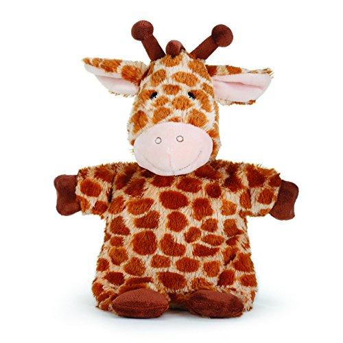 Nat and Jules Gino Giraffe Puppet Spotted Brown Children's Plush Stuffed -