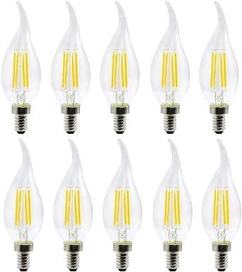 Lampara ahorradora de energia Oficina o habitación, uso Etc Pack 10 Pack), Exposición, E12 LED Bombilla