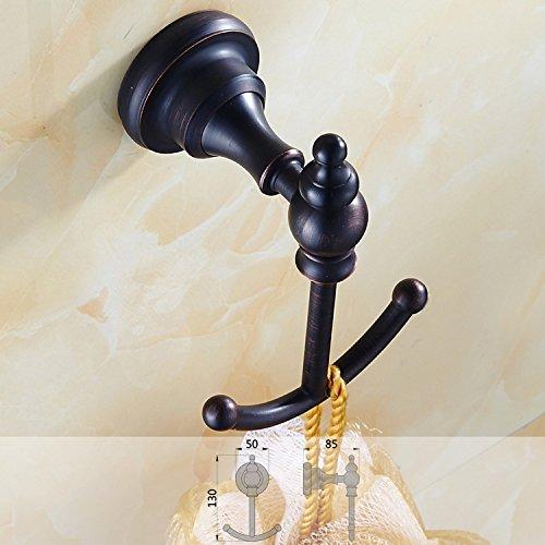 chic boyimaoyi Vintage ware copper-style hook, coat hooks, vintage bathroom black bronze hooks