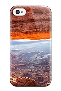 Durable Protector Case Cover With Landscape Hot Design For ipod Touch4