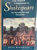 Bedford Companion to Shakespeare, MacDonald, 0312142056