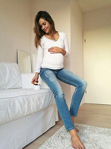 Christoff 8 Blu Cerimonie 7 Denim Jeans Donna Skinny 0XZq0r