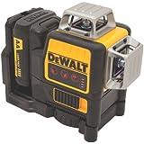 DEWALT DW089LR 12V MAX 3 x 360 Line Laser, Red