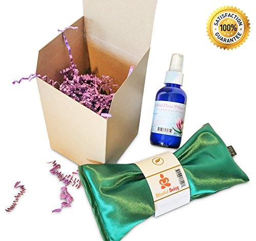 lavender eye pillow microwavable - 8
