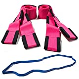 Forearm Forklift L74995PFRB Pink Lifting & Moving Straps with Free Mover's Rubber Band