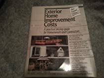 Home improvement costs for exterior projects