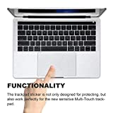 FORITO-Palm-Rest-Cover-Skin-with-Trackpad-Protector-for-2017-or-2016-Released-15-Inch-MacBook-Pro-Model-A1707-with-Touch-Bar-Silver