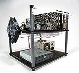HighSpeed PC Top Deck Tech Station - Large (EATX) /Black