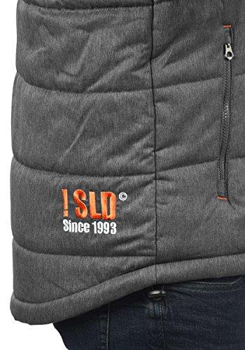 Capuche 8236 À Veste Pour Bendix Homme solid Blouson D'extérieur Melange Grey D'hiver R8qwU