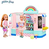 Glitter Girls by Battat - GG Sweet Shop Playset - Toy Store, House, and Accessories for 14-inch Dolls - Ages 3 and Up