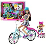 Mattel Year 2010 Barbie Camp Series Doll Playset – Sisters' Bike for Two! with Skipper and Chelsea Doll, 2 Helmets and 1 Tandem Bike (V3131), Baby & Kids Zone