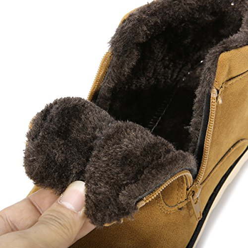 457700f0c best Snow Boots for Men and Women,Gracosy Korean Style Warm Casual ...