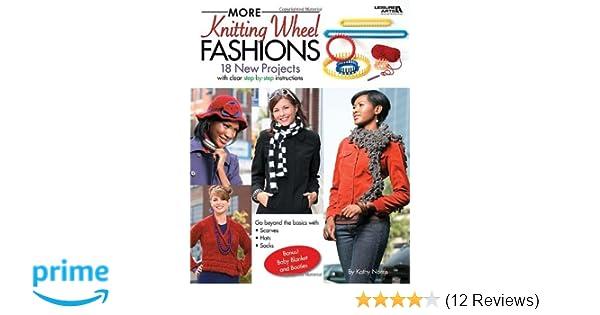 More Knitting Wheel Fashions : More knitting wheel fashions leisure arts #4411 : kathy norris