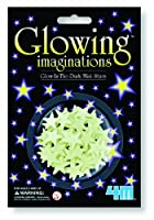 4M 5143 Glow-In-The-Dark Mini Stars - Pack of 60