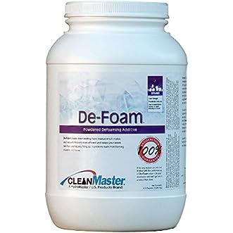 De-Foam Powder Additive, 6.5 lb. (Pack of 4) - CleanMaster 950-177-B