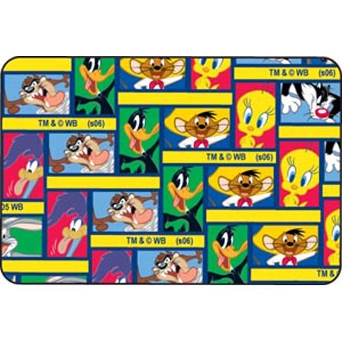 Looney Tunes Characters, 2'' x 3'' Patch, Stat Strip, A fun bandage For Large Cuts & Abrasions as well as Knees & Elbows 600 pk by Dukal Corporation