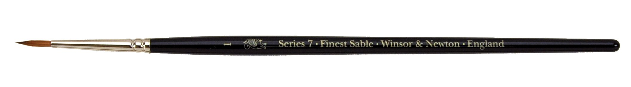 Winsor & Newton Series 7 Kolinsky Sable Watercolor Brush - Round #1 (5007001)