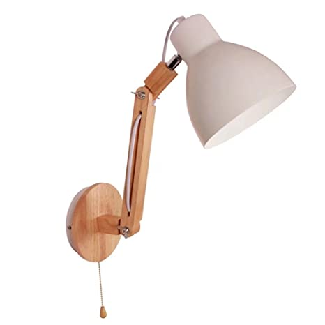 Led Lamps Lights & Lighting Qualified Wood Wall Light Lamp Simple Creative Led Bedroom Bedside Decor Nordic Designer Living Room Corridor Hotel Wall Sconce Macaroon With The Best Service
