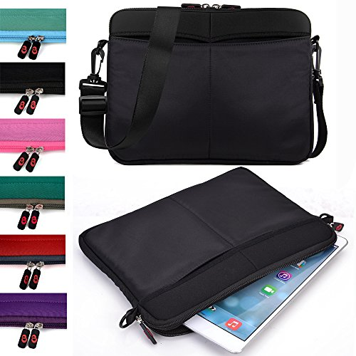 Tablet Sleeve Messenger Bag with Shoulder Strap Neoprene Protective Cover Case for Amazon Kindle Fire HD 10