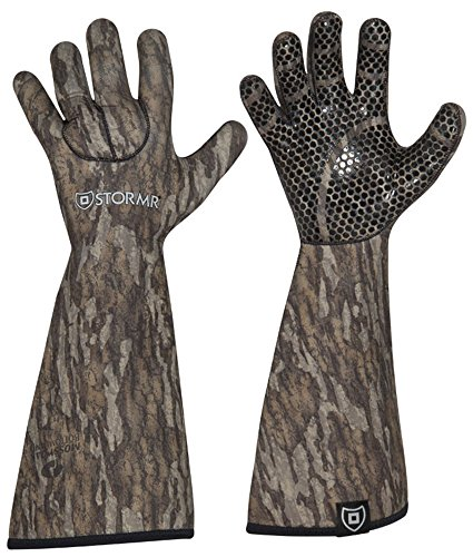 STEALTH GAUNTLET NEOPRENE GLOVE MOSSY OAK XL
