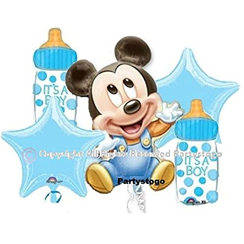 Baby Mickey Mouse Decorations For Baby Shower Amazon