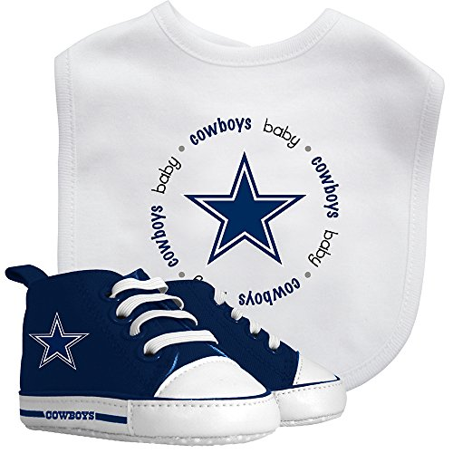 Baby Fanatic Bib with Pre-Walker, Dallas Cowboys