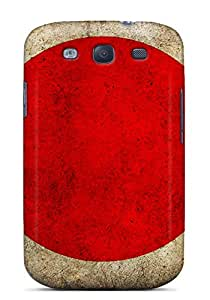 Premium TlZ4746FBAE Case With Scratch-resistant/ Dirty Japanese Flag Case Cover For Galaxy S3