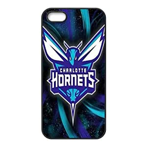 Charlotte Hornets NBA Black Phone Case for iPhone 5S Case