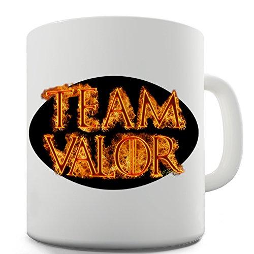 Twisted Envy Team Valor Ceramic Funny Mug