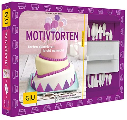 Motivtorten-Set: Torten dekorieren leicht gemacht (GU Buch plus)