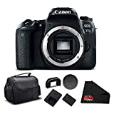 Canon EOS 77D DSLR Camera (Body Only) 24.2 MP CMOS - Essential Bundle - International Version