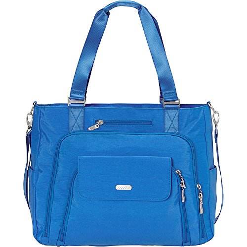 - baggallini RFID Integrity Tote (Azure Blue/Mimosa)