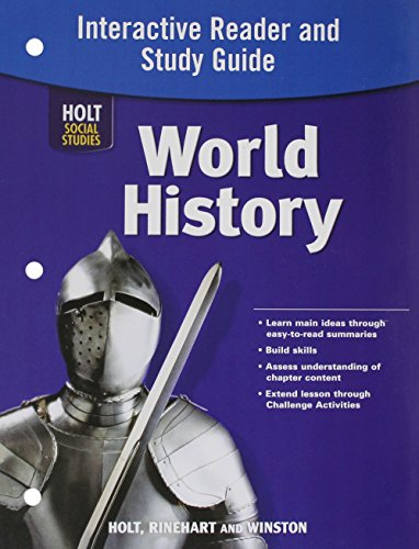 World History Full Survey: Interactive Reader and Study Guide