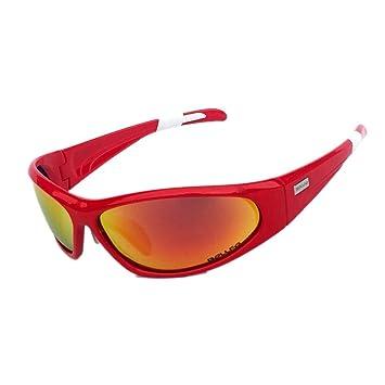 Feiledi® Gafas polarizadas para Bicicleta de Montaña, Gafas de Ciclismo, Gafas de Deporte