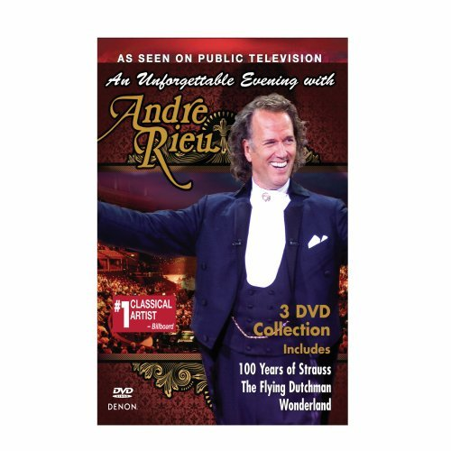 Andre Rieu - An Unforgettable Evening with Andre Rieu (Slipsleeve Packaging, O-Card Packaging, 3PC)