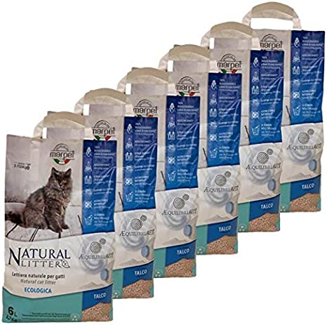 LordsWorld - Marpet - 6 Bolsas de Basura 100% Biodegradable Cat ...