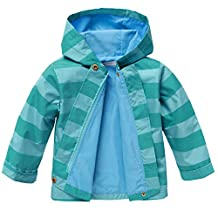 Arshiner Girls Baby Waterproof Rain Coat Jacket Outwear Trench With Hooded