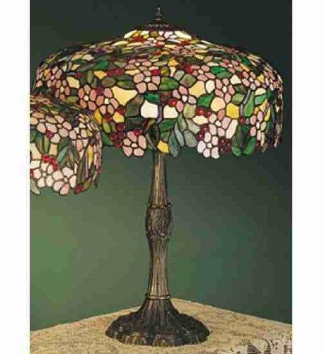 Tiffany Cherry Blossom Table Lamp
