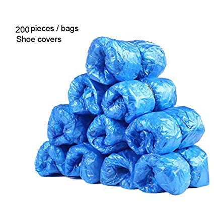 Express Panda® Cubiertas de zapatos desechables (para Shoe Cover dispensador máquina (200 unidades