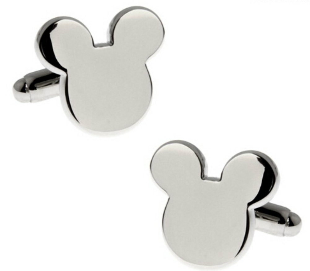 Disney's Mickey Mouse Ears Metal Cufflinks