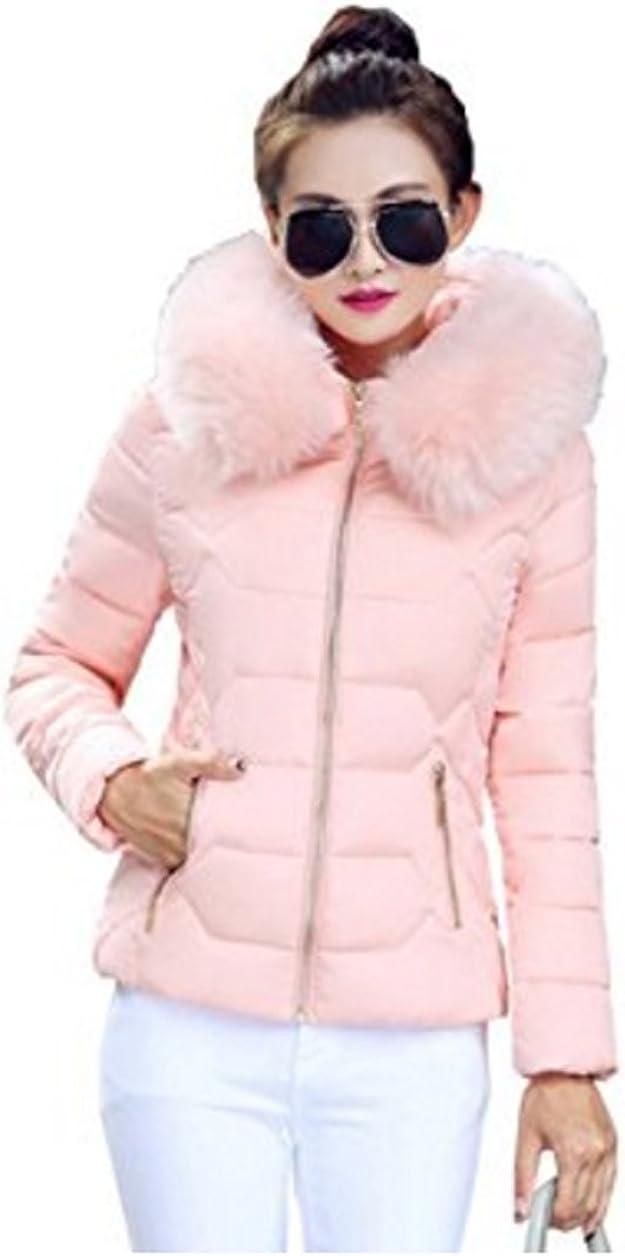 New Women Winter Warm Parka Jackets Ladies Fur Collar Coats