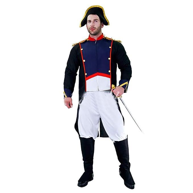 Yukeyy Disfraz Medieval De Hombre Carnaval Fiesta De ...